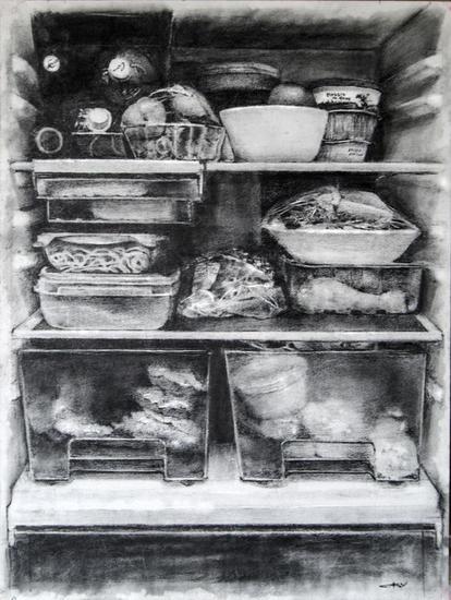 Interior de frigorífico Lápiz