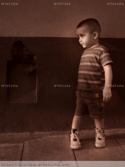 Omar Jesús Retrato Blanco y Negro (Digital)
