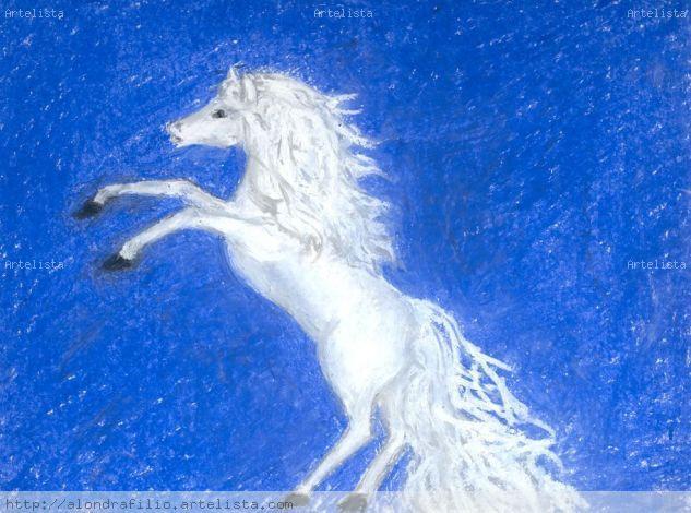 caballo Papel Cera Animales