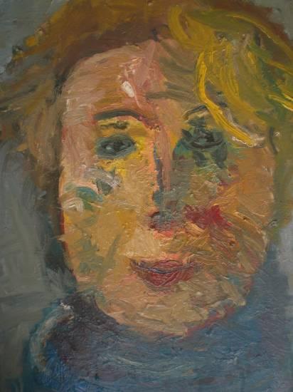 retrato de angelica