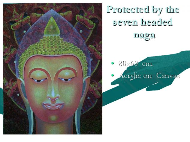 Protected by the seven headed naga