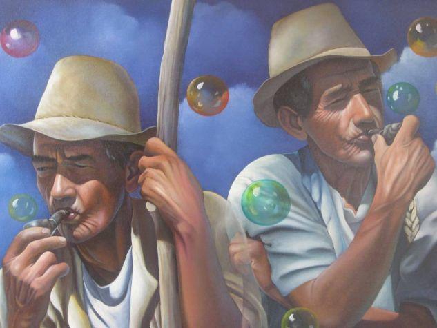 Pensamiento Fructifero Acrílico Lienzo Retrato