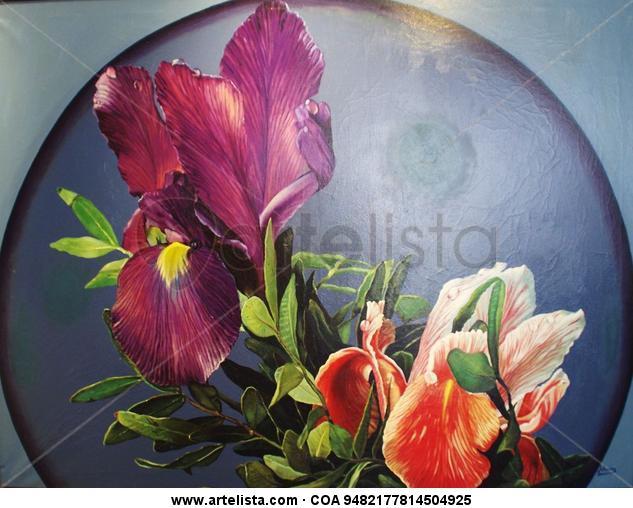 Orquídeas Tela Óleo Floral