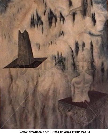 A dream with the falocentrism Figura Lienzo Óleo