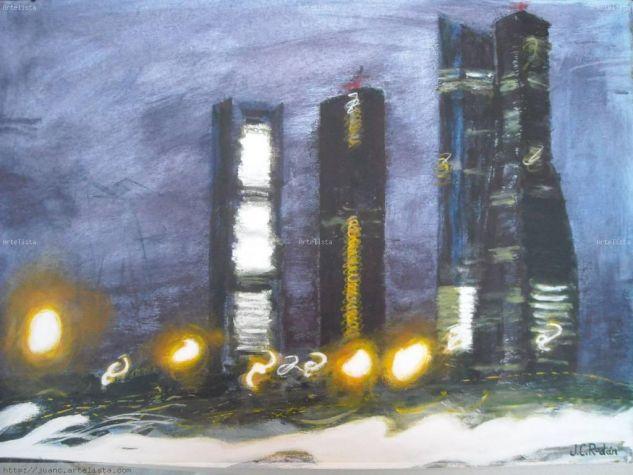 Las torres Papel Acrílico Paisaje