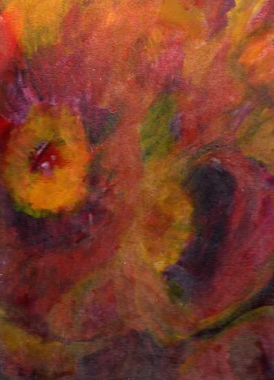 flores de otoño Óleo Lienzo Paisaje