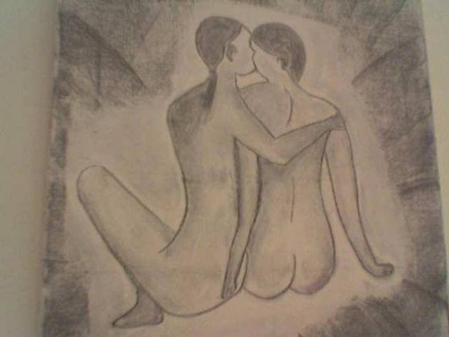 NUS Grafito Tela Desnudos