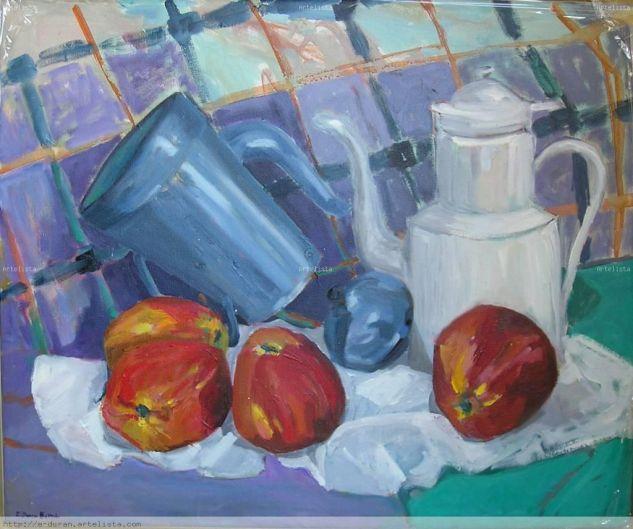 Bodegó amb pomes Bodegones Óleo Lienzo