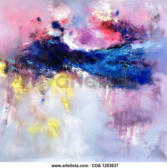 Abstract 718 Others Oil Canvas