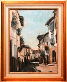 Tornavacas Oil Canvas Landscaping