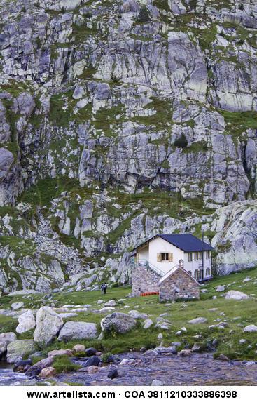 refugio de montaña Color (Digital) Naturaleza