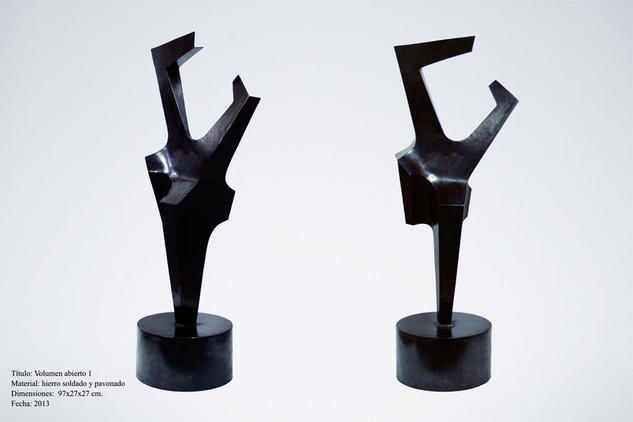 Volumen abierto 1 Abstracta Metal