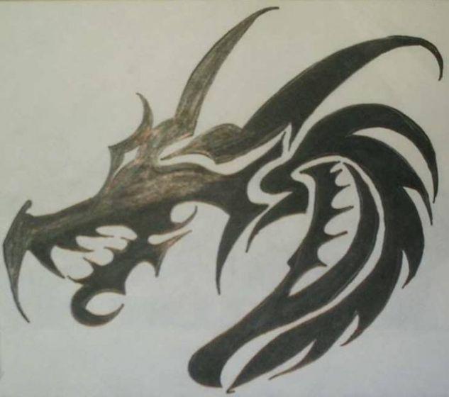 Dragon Negro Rotulador