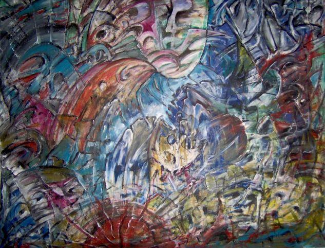 Zeit-Geist: Art+Weise/Time-Spirit: Art + manner/Tiempo-Spirit: Art + manera Acrílico Otros Figura