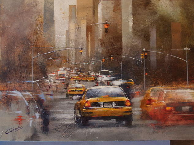 TAXI II Panel Oil Landscaping