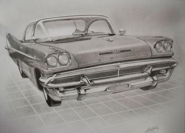 Desoto 1957 sedan Lápiz