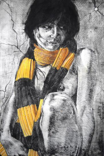 Amarillo Aguafuerte