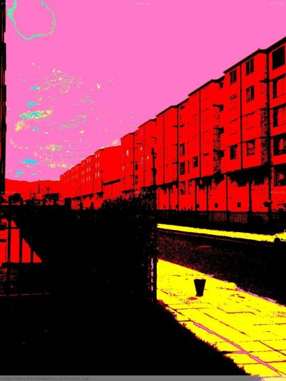 popcity 2,3 Black and White (Digital) Architecture and Interiorism