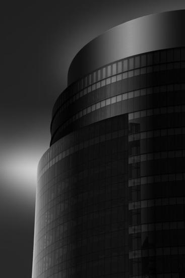 Edificio Corte Inglés Blanco y Negro (Digital) Arquitectura e interiorismo
