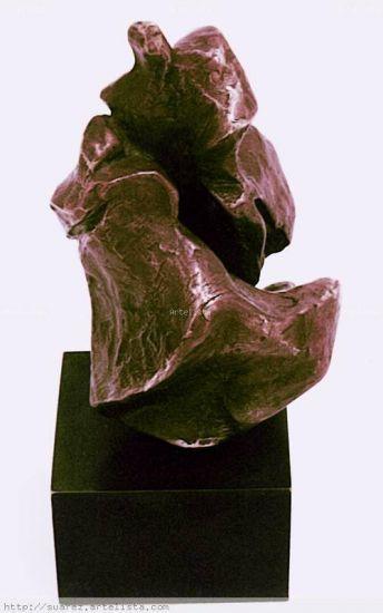 escultura: ABRAZO Bronce Figurativa