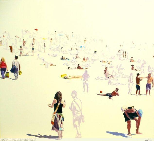 Beaches VIII Óleo Lienzo Paisaje