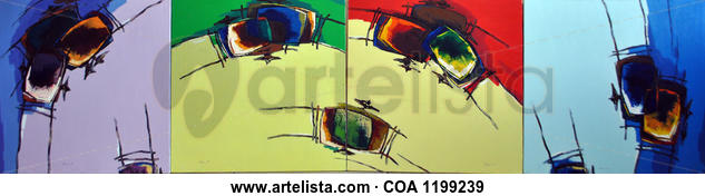Four Season Others Oil Canvas