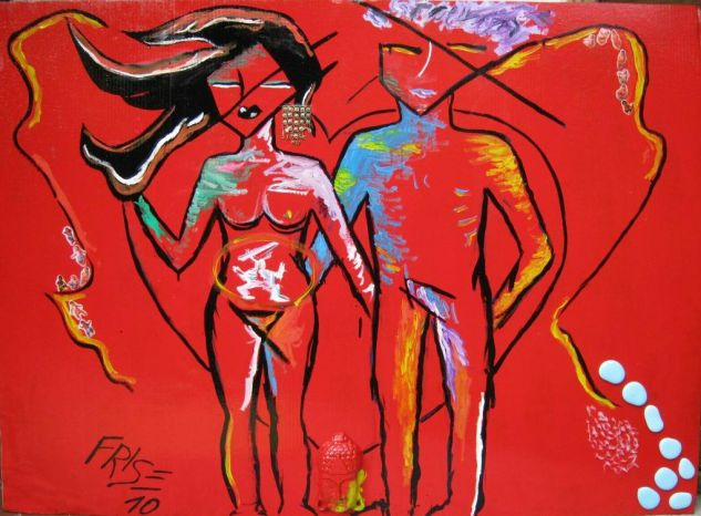 Evolution in Love Óleo Otros Desnudos