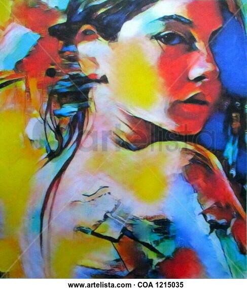 Evolving Portrait Acrylic Canvas