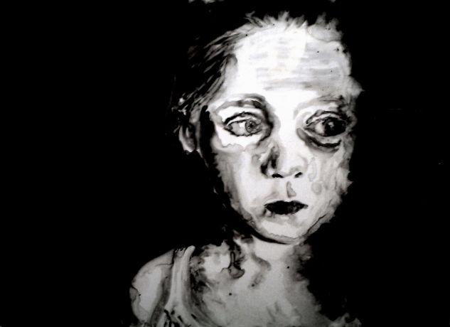 tribut sober black Acrílico Cristal Retrato