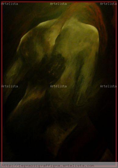 Tango- (E.Arolas. G.Clausi) Acrílico Lienzo Figura