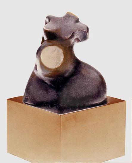 escultura TORSO Bronce Figurativa