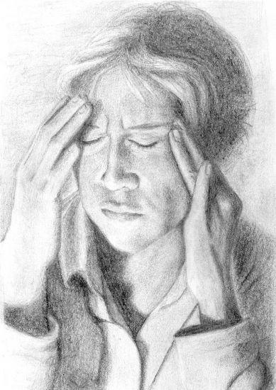 males de cabeza Lápiz