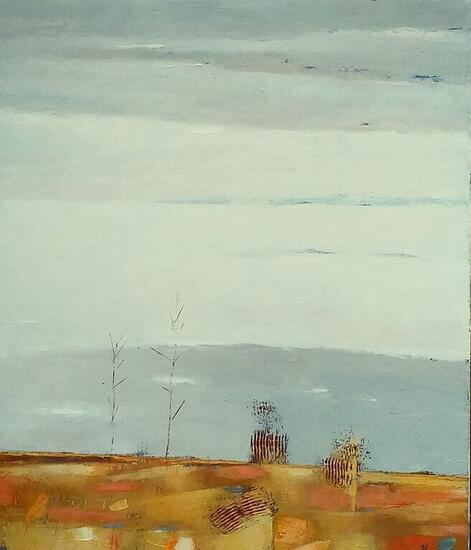 Landscape With Trees Paisaje Óleo Lienzo