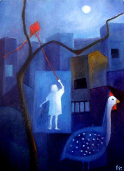 innocence-1 Figure Painting Canvas Oil
