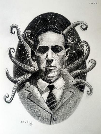 H. P. Lovecraft Técnica Mixta