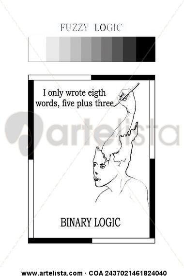 Binary logic Lápiz
