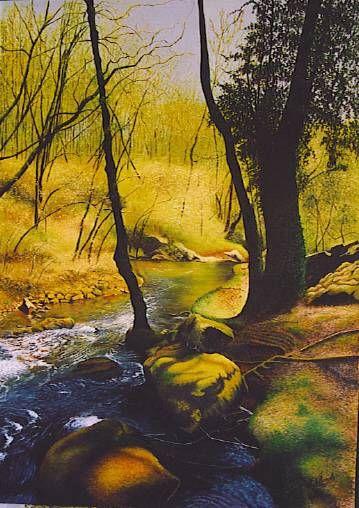 contraluz Oil Canvas Landscaping