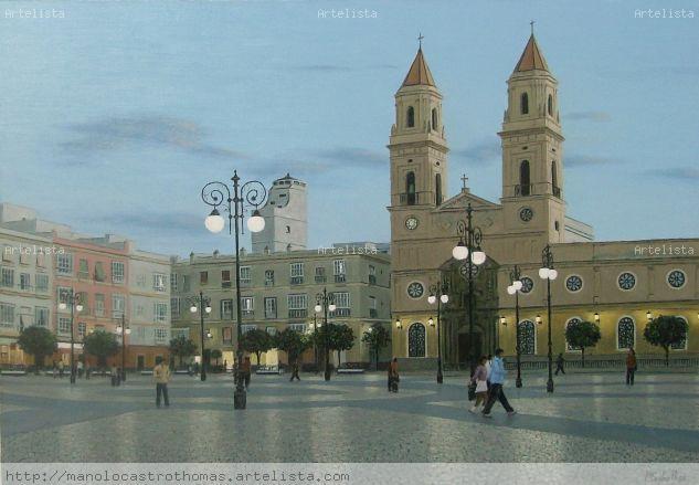 Plaza de san antonio - anochecer