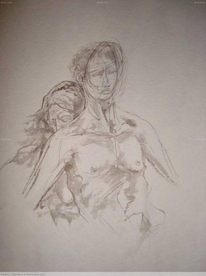 'EN MI CORAZON' Tinta