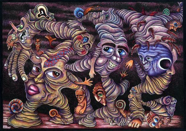 Magmateria Errante.(2005-2010) Tinta