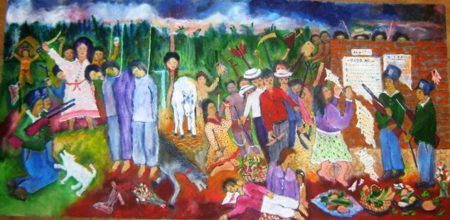 GALAN Y LOS COMUNEROS Oil Canvas Others