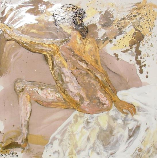 Esencia de mujer vendida Canvas Industrial Nude Paintings