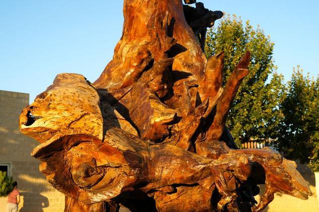 Escultura de Madera Madera Mixta