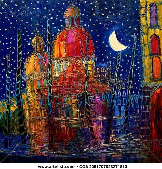 Night Others Oil Canvas