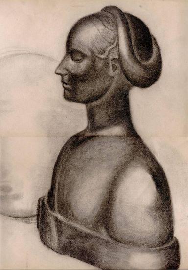 estatua pintada Pastel Papel Otros