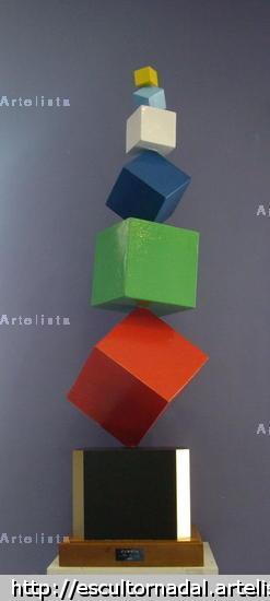 Cubista Abstracta Mixta