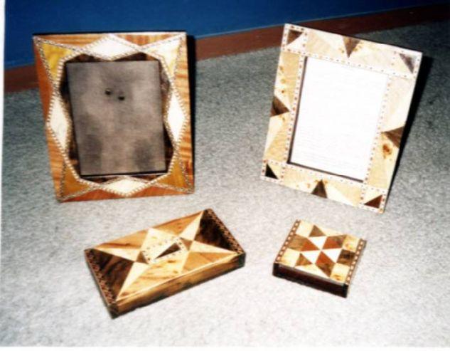 Portarretratos y tarjeteros Decoración Muebles y Objetos de Madera