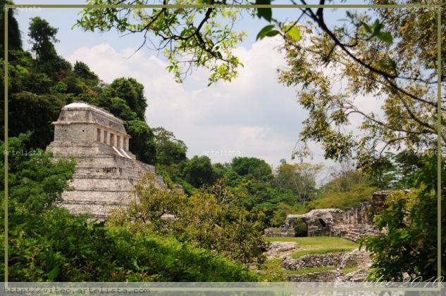 Palenque 1 Arquitectura e interiorismo Color (Digital)