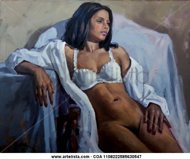 Brasil Canvas Oil Nude Paintings