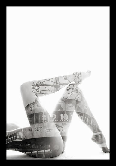 Berlin in the Skin N5 Black and White (Digital) Other Themes